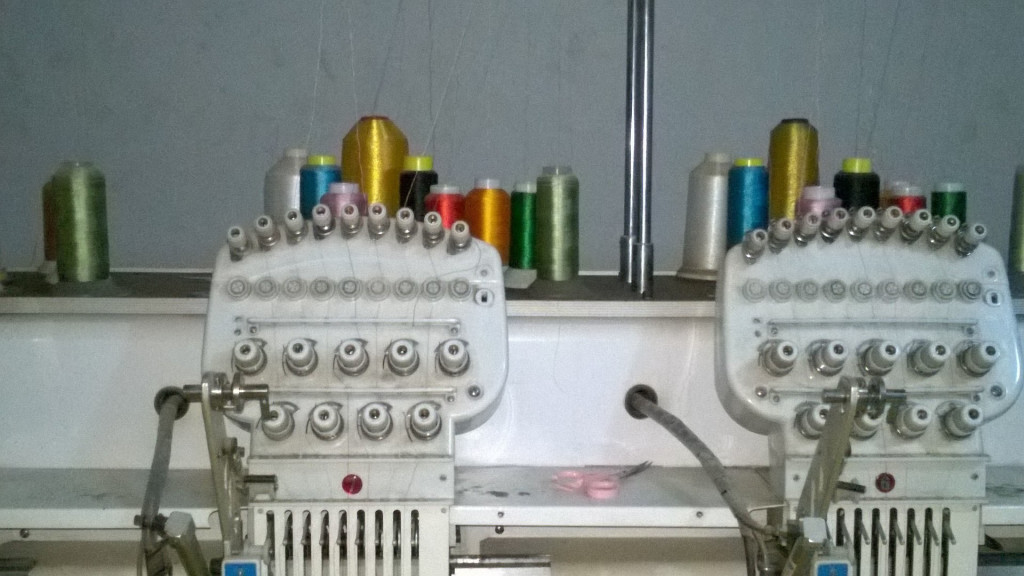 Equipment in the sewing co-op