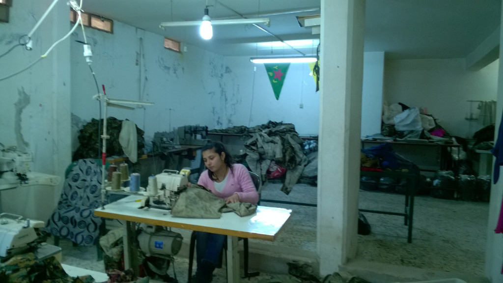 Warshin women's sewing co-operative