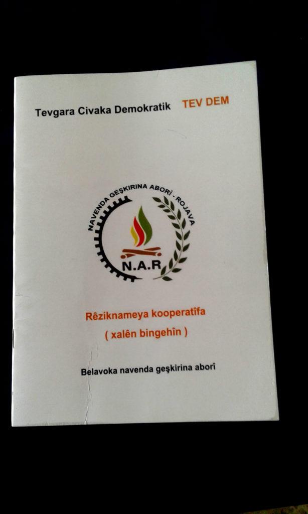 Rojava, Syria, Kurdistan, TEV DEM, democratic confederalism, cooperatives, coops