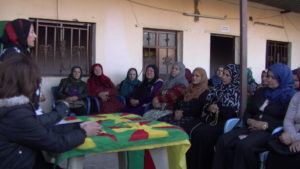 Centre for Women's Economy, Rojava, Syria, women, feminism, jineologi, Qamishlo, cooperative, coops, agricultural cooperative
