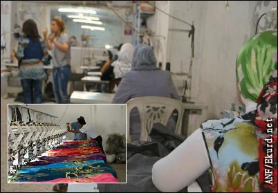 women, Warshin, cooperative, coop, Syria, Rojava, Kurdistan