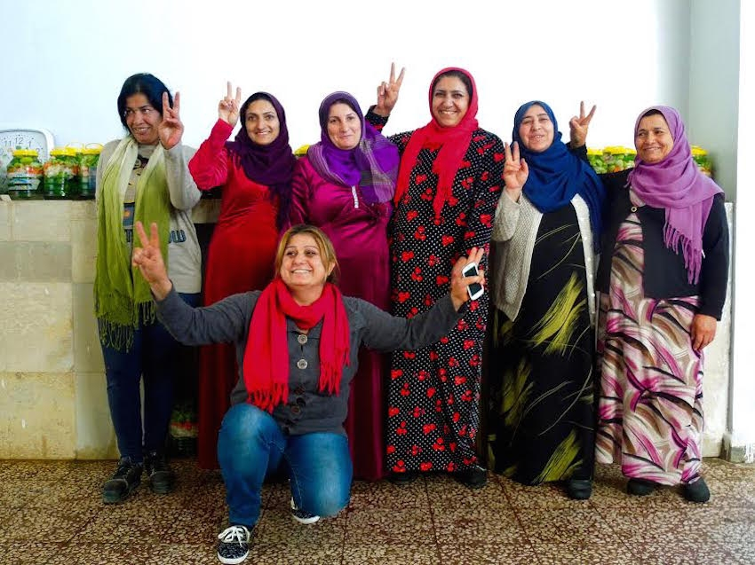 Rojava, Syria, Qamishlo, Kurdistan, women, cooperatives, feminism