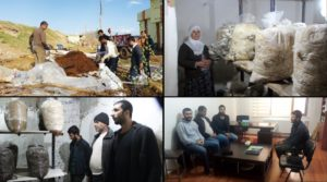 Amed, Diyarbakir, Kurdistan, Turkey, village, cooperative, coops
