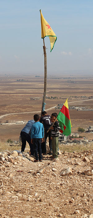 Rojava, Syria, youth, YCR