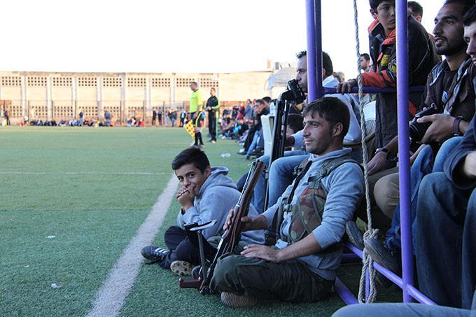 Rojava, Syria, youth, YCR