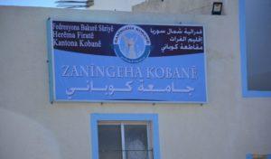 Rojava, Syria, university, Kobane, Kobani