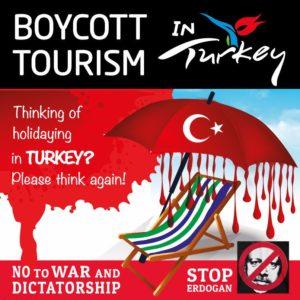 Turkey, boycott, tourism, holiday, Kurdistan, Kurdish, Kurds, ethnic cleansing, genocide