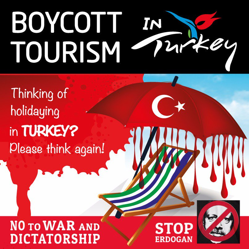 Turkey, boycott, tourism, holiday, Kurdistan, Kurdish, Kurds, ethnic cleansing, genocide