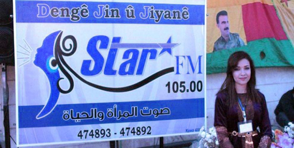 Rojava, Syria, women, radio, Tirbespiye