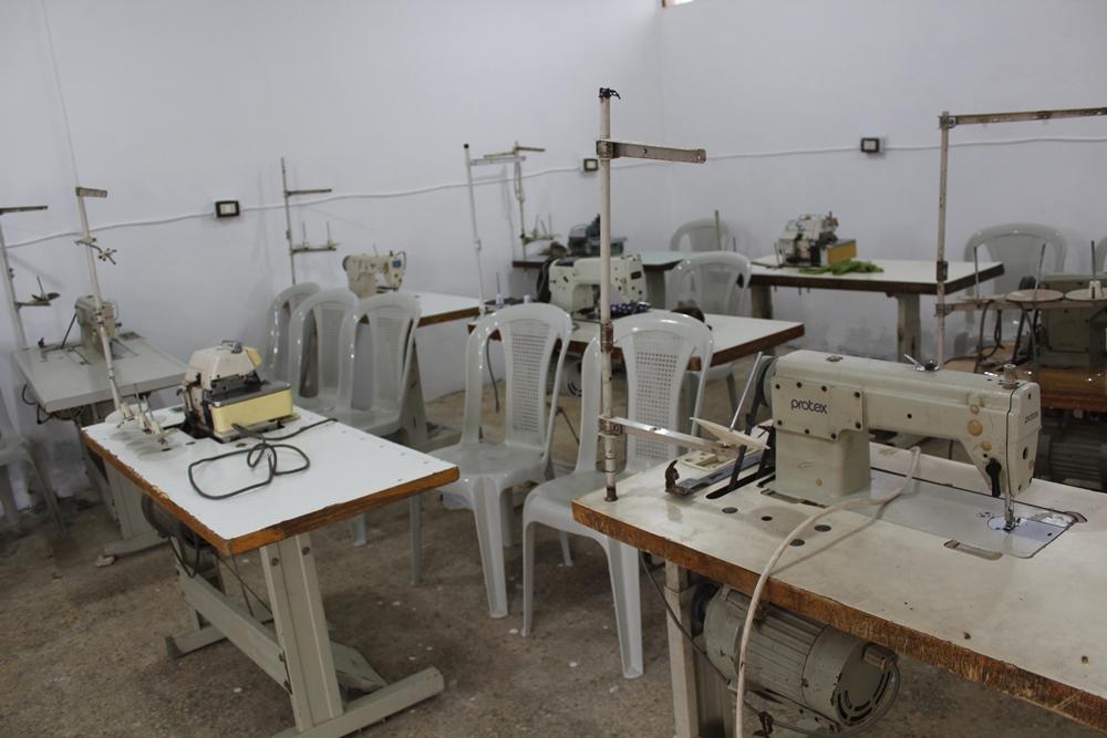 Rojava, Tabqa, Syria, coops, coop, co-operative, cooperative, tailor